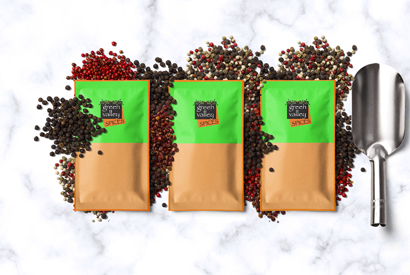 sachet-package- Green Valley Spices